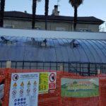 Il restauro delle Serre di Villa Faraggiana a Meina
