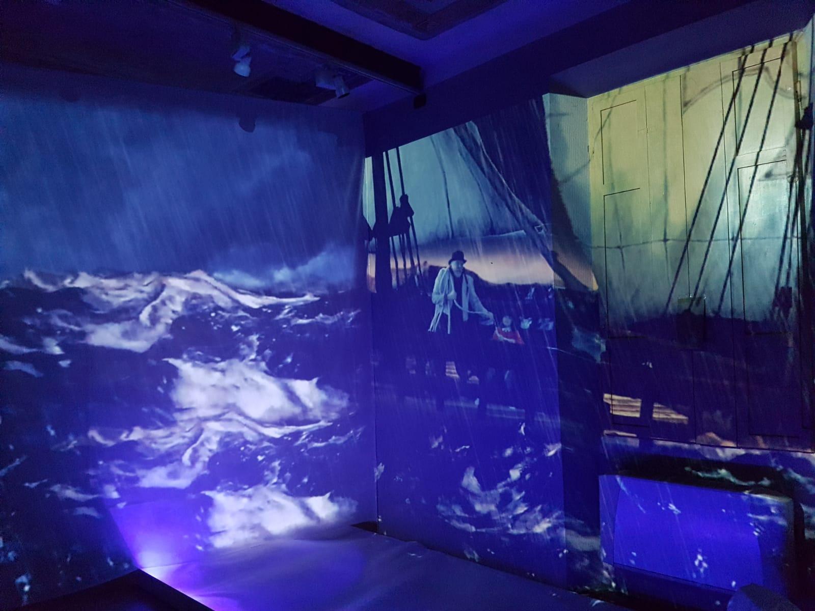 imago percorso 4D Museo Meina tempesta
